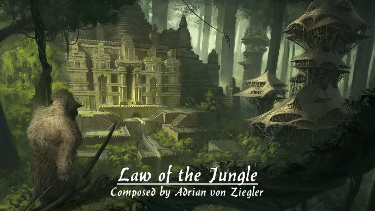 African Fantasy Music Law of the Jungle Animales