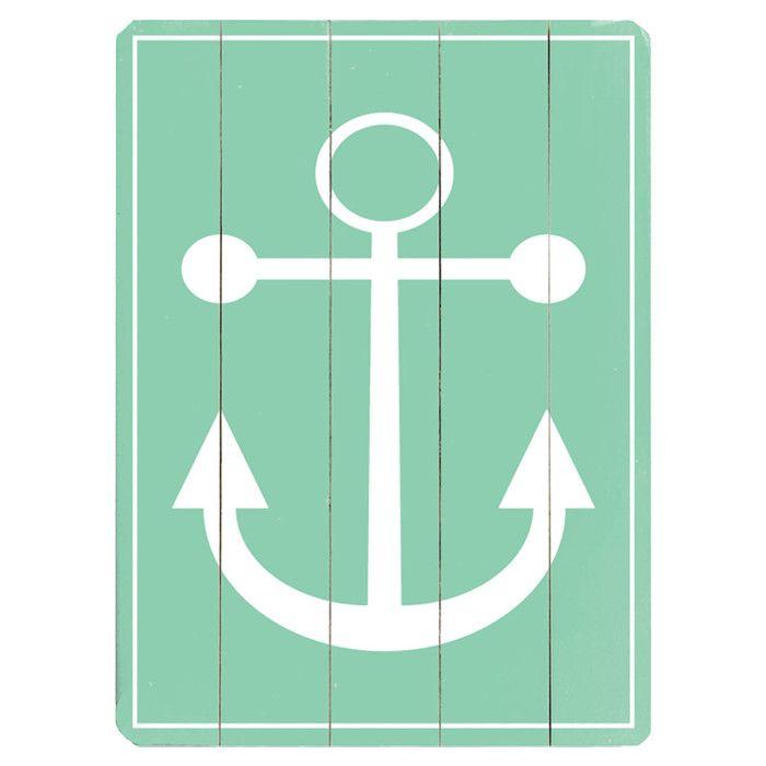 Anchor Wall Sign