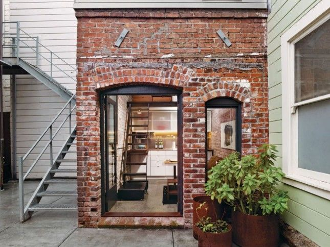 12 tiny homes that prove small spaces are more glam than ever small spaces spaces and tiny houses - Small belgian houses brick ...