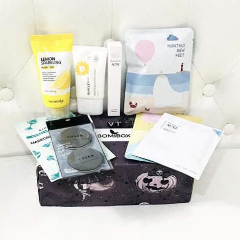 Past Boxes Bomibox Korean Beauty Box Korean Skincare Products Subscription Beauty Box Korean Beauty Walmart Beauty Products