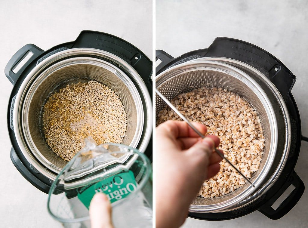 Instant pot farro learn how to cook farro right in your