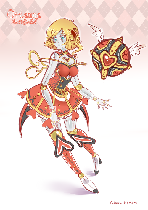Heartseeker Orianna Skin League Of Legends League Of Legends