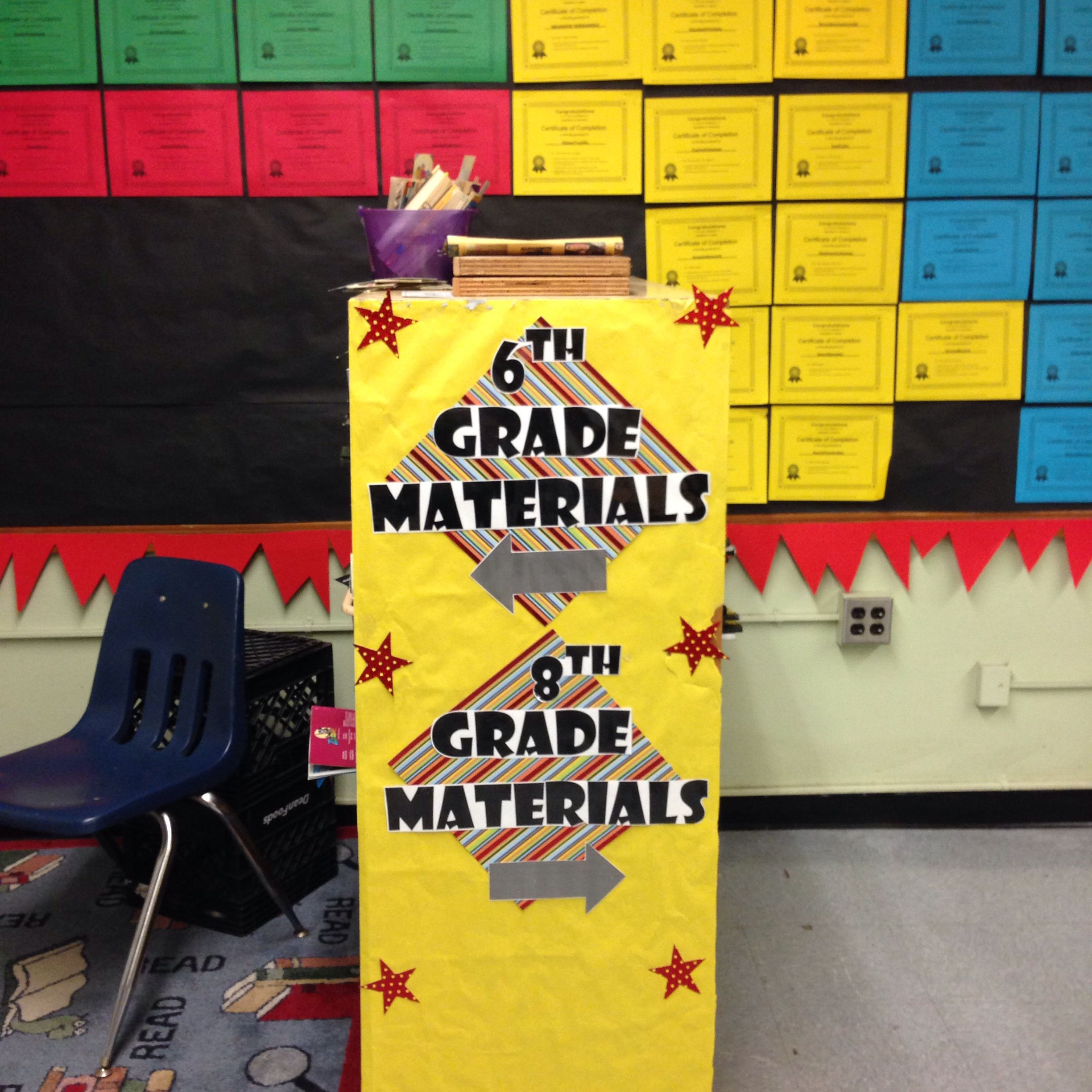 Middle School Intensive Reading Classroom Superhero Theme