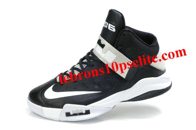 2869834d2b7 Nike Zoom Zoom LeBron Soldier 6(VI) Black White