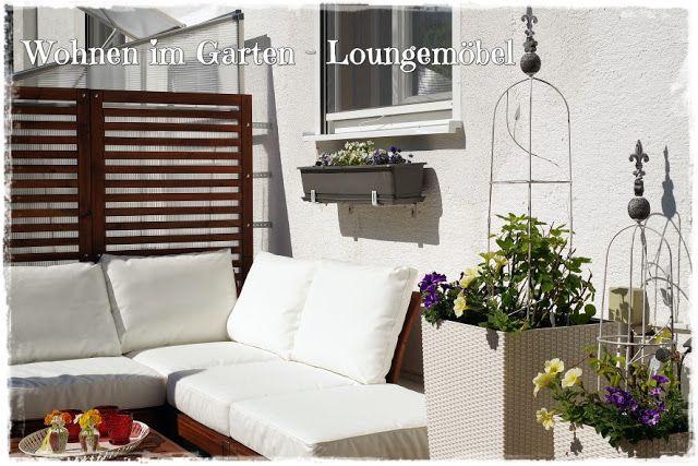 Beautiful Gartenblog Topfgartenwelt Loungem bel f r den Garten Blumen d rfen nicht fehlen
