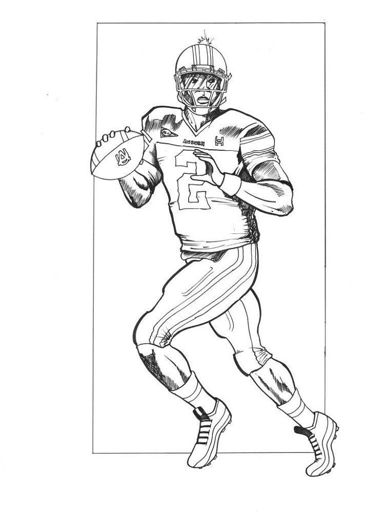 Football Coloring Pages With Images Football Coloring Pages