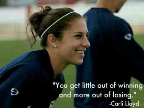 Carli Lloyd Quotes Brilliant Carli Lloyd  Soccer Quotes  Pinterest  Soccer Training Soccer