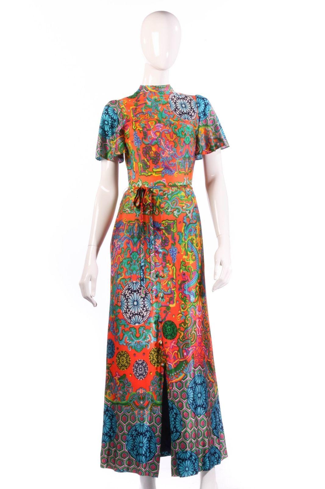 Leygil Multi Coloured Floral Vintage Maxi Dress Size 6 8 Vintage Maxi Dress Summer Maxi Dress Floral Maxi Dress Size 16 [ 1600 x 1066 Pixel ]