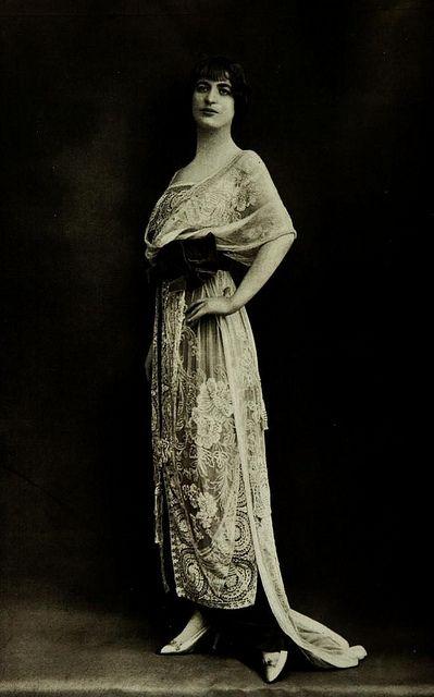 Robe du Soir 1912 by .pintuck, via Flickr