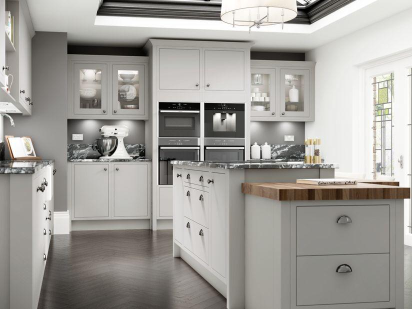 Best Radley Dove Grey Wickes Co Uk Grey Shaker Kitchen 400 x 300