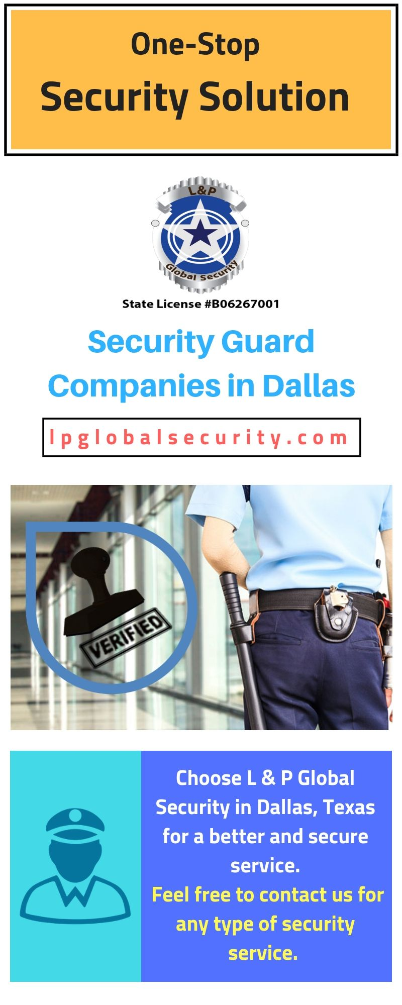 Consult one of the best security guard companies in Dallas