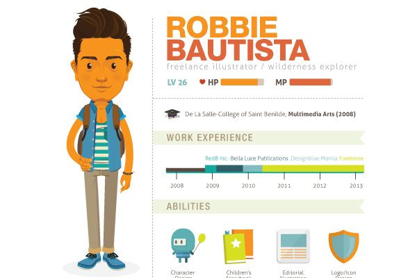 Infographic Resume Here's Visme To Produce A Stunning Infographic Resume That Will