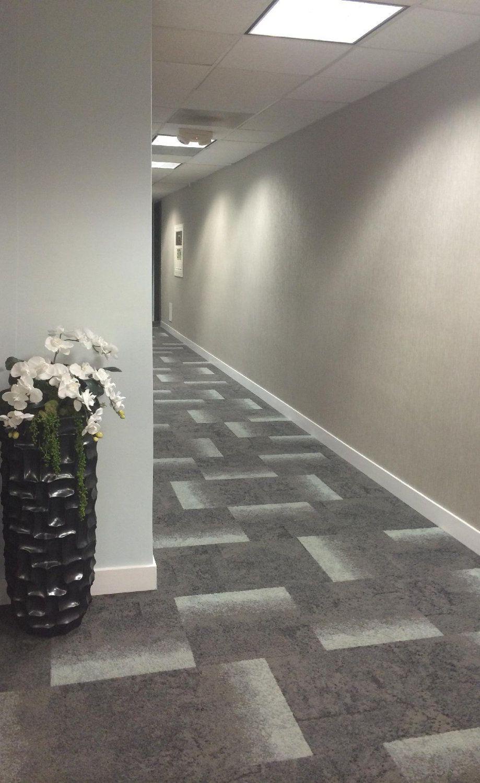 Monday Studios San Antonio Commercial Interior Design Library Hallway Designs Hallway Carpet Office Carpet