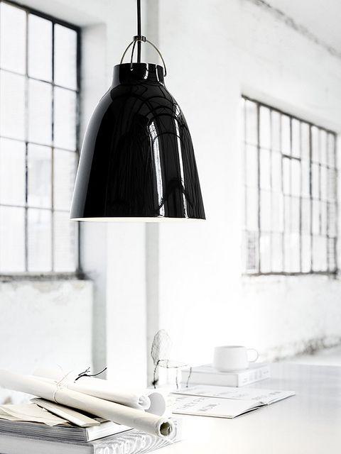 Caravaggio BlackBlack pendant P2 by Cecilie Manz - leuchten wohnzimmer landhausstil