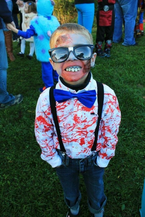 zombie nerd costume for halloween