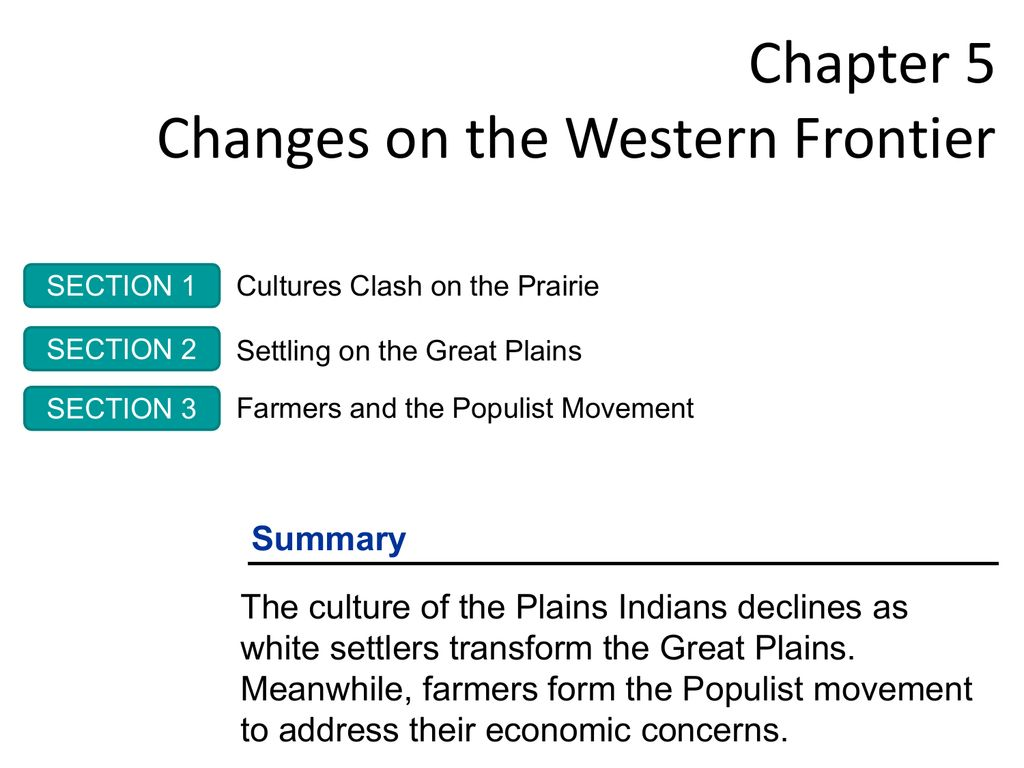 Chapter 13 Changes On The Western Frontier Worksheet