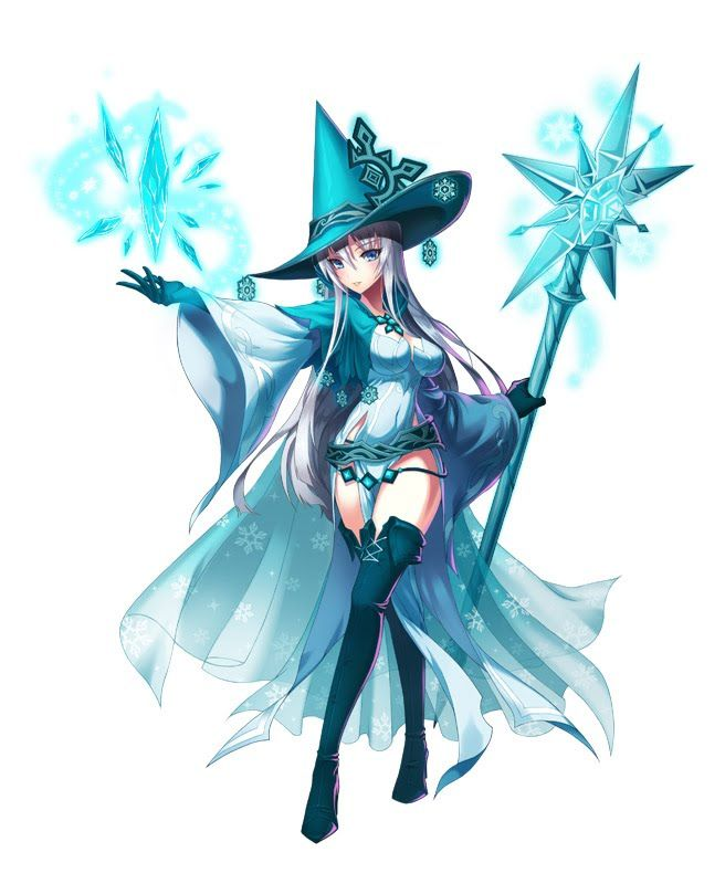 Cat Costume Anime Witch Witch Characters Ice Mage