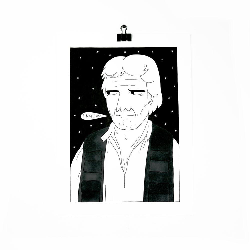 Han Solo by Lara Luís
