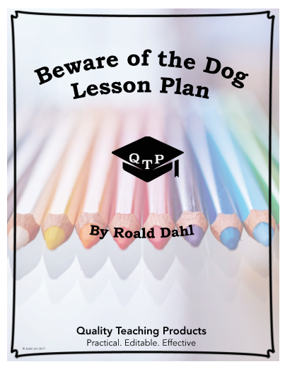 beware of the dogg roald The story beware of the dog starts by telling us that the main character, peter williamson is flying a spitfire, or battle plane used in world war.