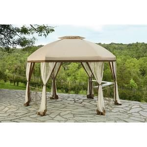 Replacement Canopy For Long Beach Gazebo Sears Gazebo Replacement Canopy Outdoor Structures