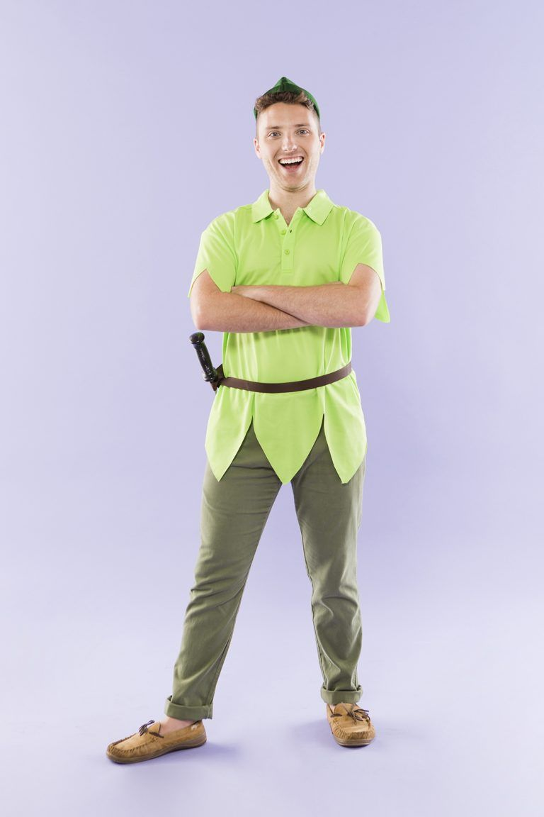 Follow this DIY Halloween costume tutorial to learn how to dress up as Peter Pan!