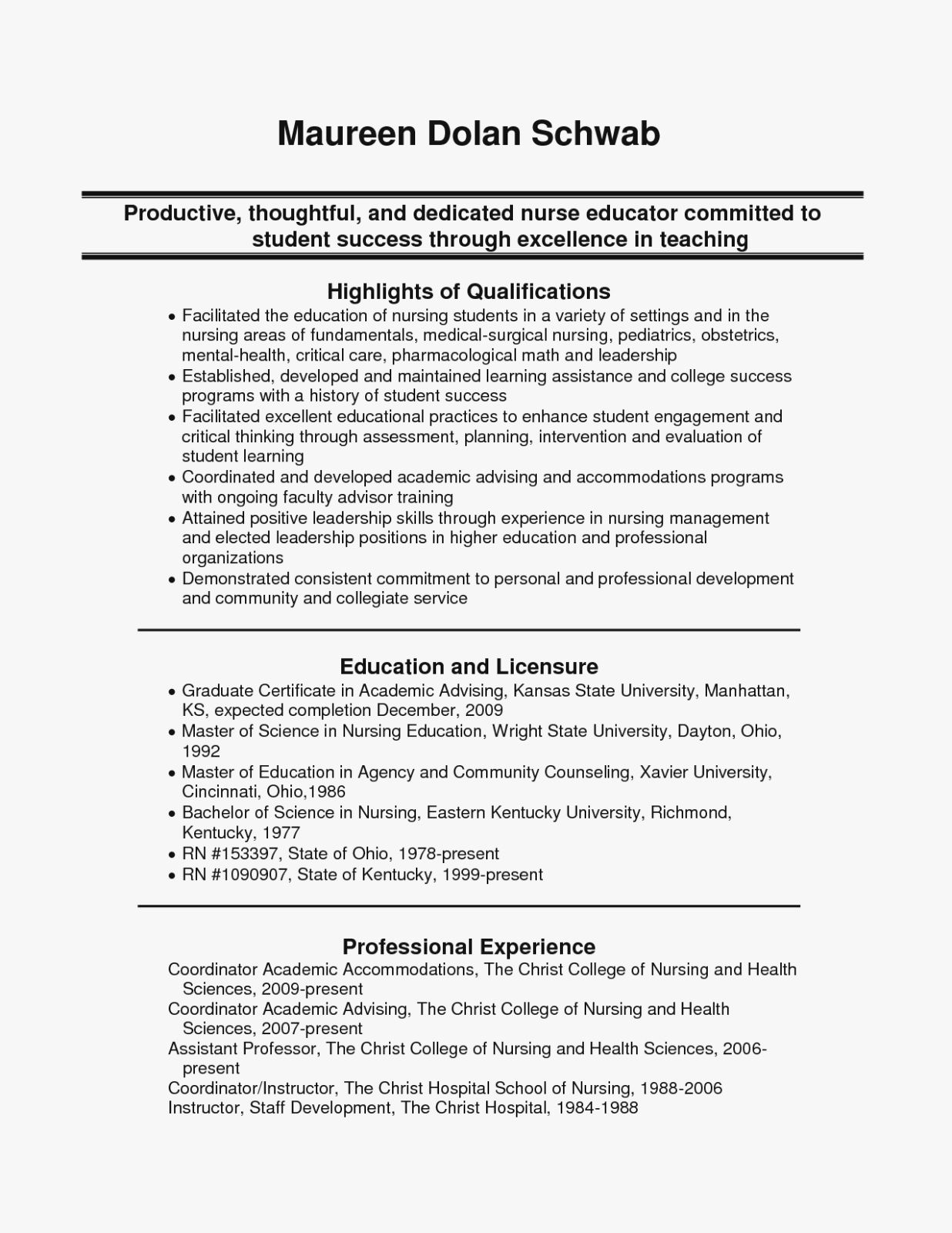 Nursing Clinical Experience Resume Best Of Top Five Trends In Nursing Nursing Resume Student Resume Template Student Nurse Resume