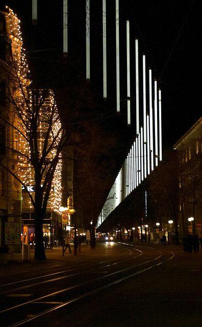 New Christmas Lights In Zurich In 2019 Zurich New