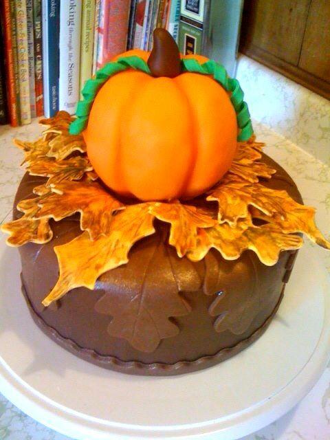 Incredible Pumpkin Birthday Cake With Images Pumpkin Birthday Cakes Funny Birthday Cards Online Alyptdamsfinfo