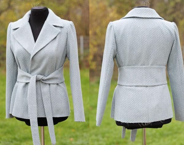 Patron gratuit : un manteau court