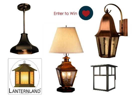 Enter today to win your choice of American made lighting by Lanternland- handcrafted and made  sc 1 st  Pinterest & Giveaway: American Made Lighting by Lanternland   Copper lantern ... azcodes.com