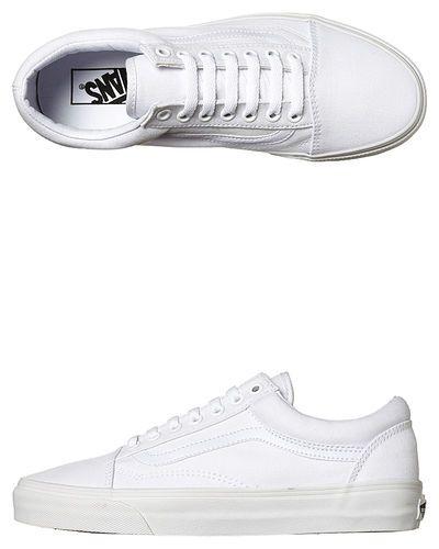 Vans Old Skool Shoe - True White | Vans