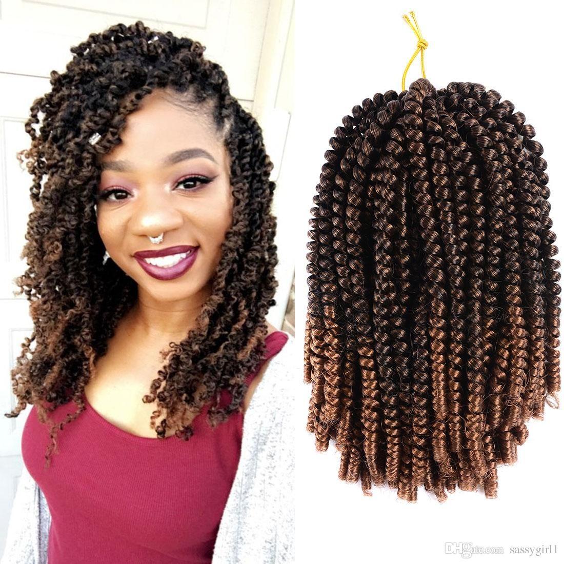2019 Hot Senegal Twist Curly Goddess 12inch Spring