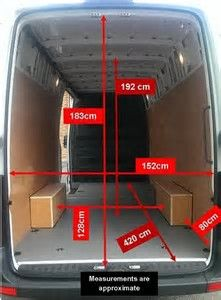 Image result for Sprinter Van Interior Dimensions | Sprinter ...