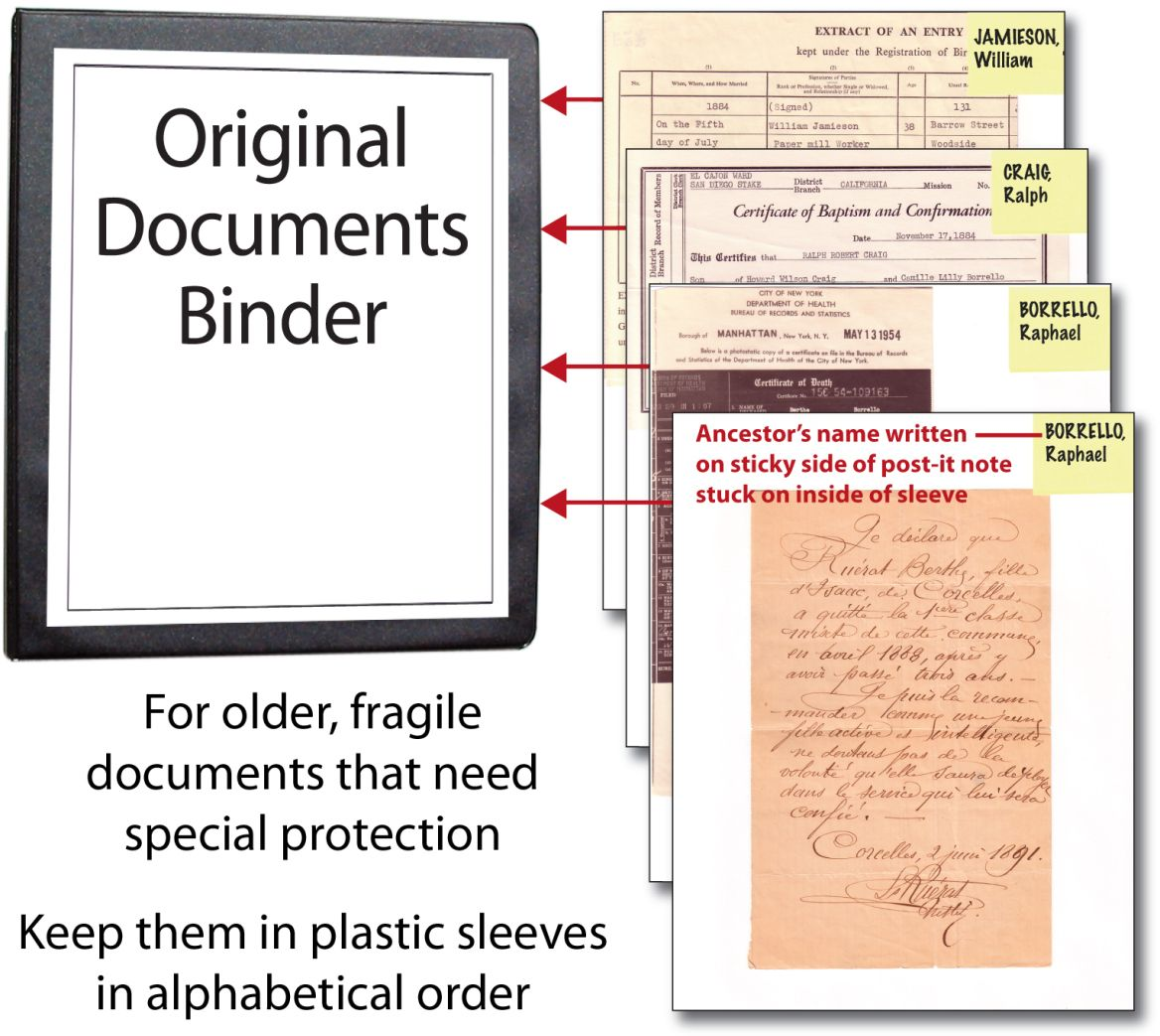 Originaldocsbinder family tree pinterest family history filing aiddatafo Images