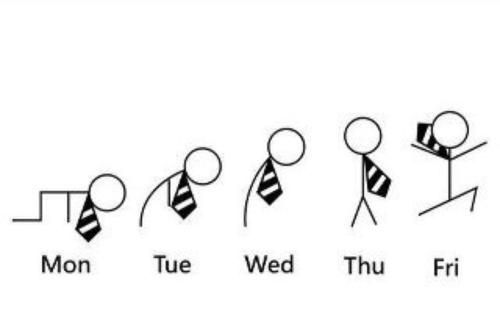 if only everyday i could feel like friday