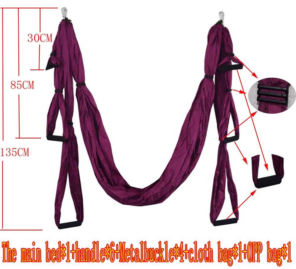 Medium image of cheap hammock hammock buy quality hammock hanging belt directly from china hammock belt suppliers  elastic exercise yoga hammock aerial swing anti  gravity