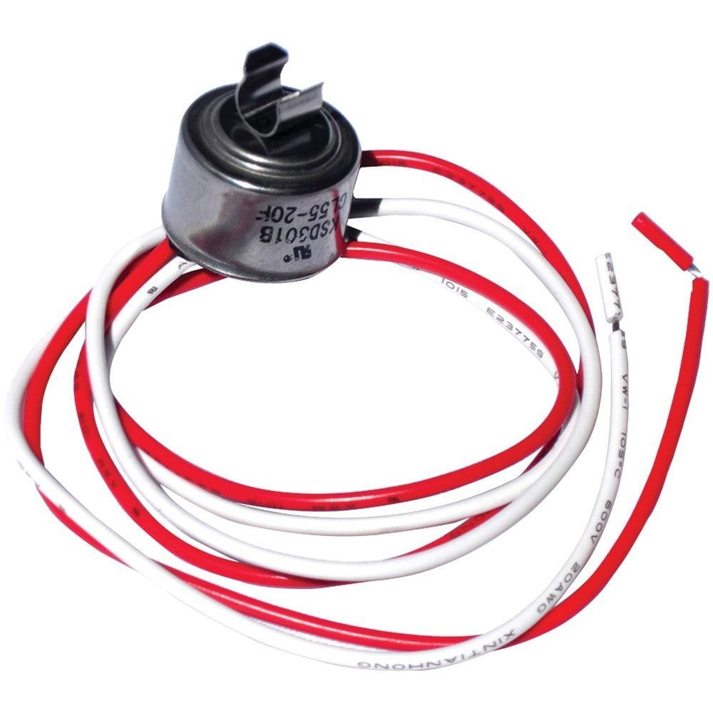 Napco Cl50 Universal Refrigerator Defrost Thermostat With Clips Automotive Wiring 50deg Replacement
