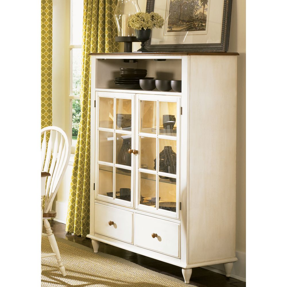 Store Mementos, Keepsakes, Decorations Or Simply Your Favorite Dishes With  This Low Country Curio Cabinet. Made Of Solid Hardwood, This Sturdy Linen  Sand ...