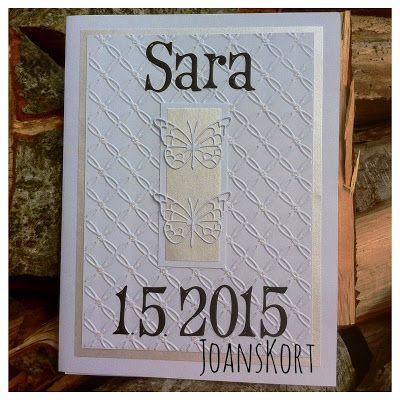 JoansKort: Kort til Sara