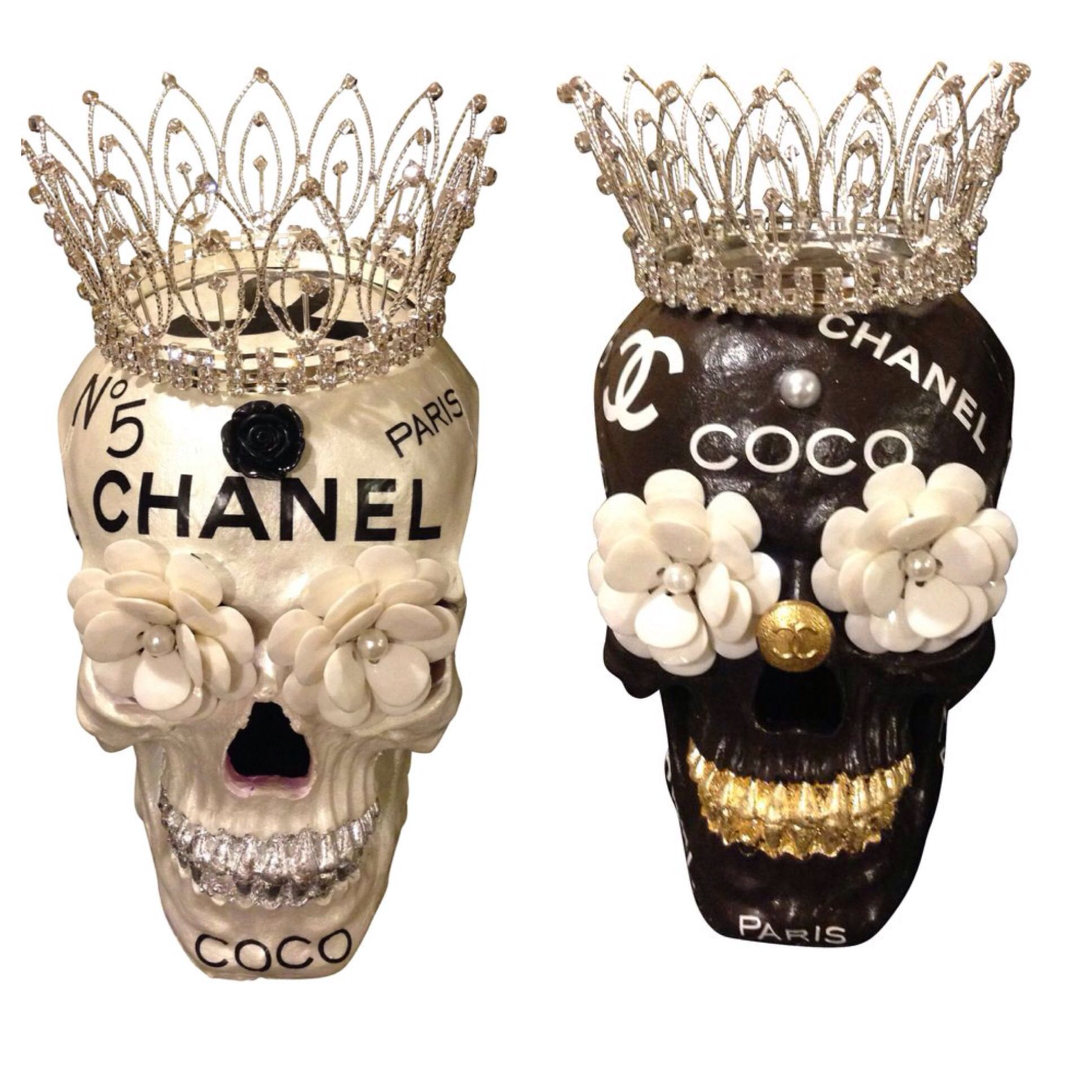 Chanel Skulls Trayschic Com Pinned By Thechanelista On