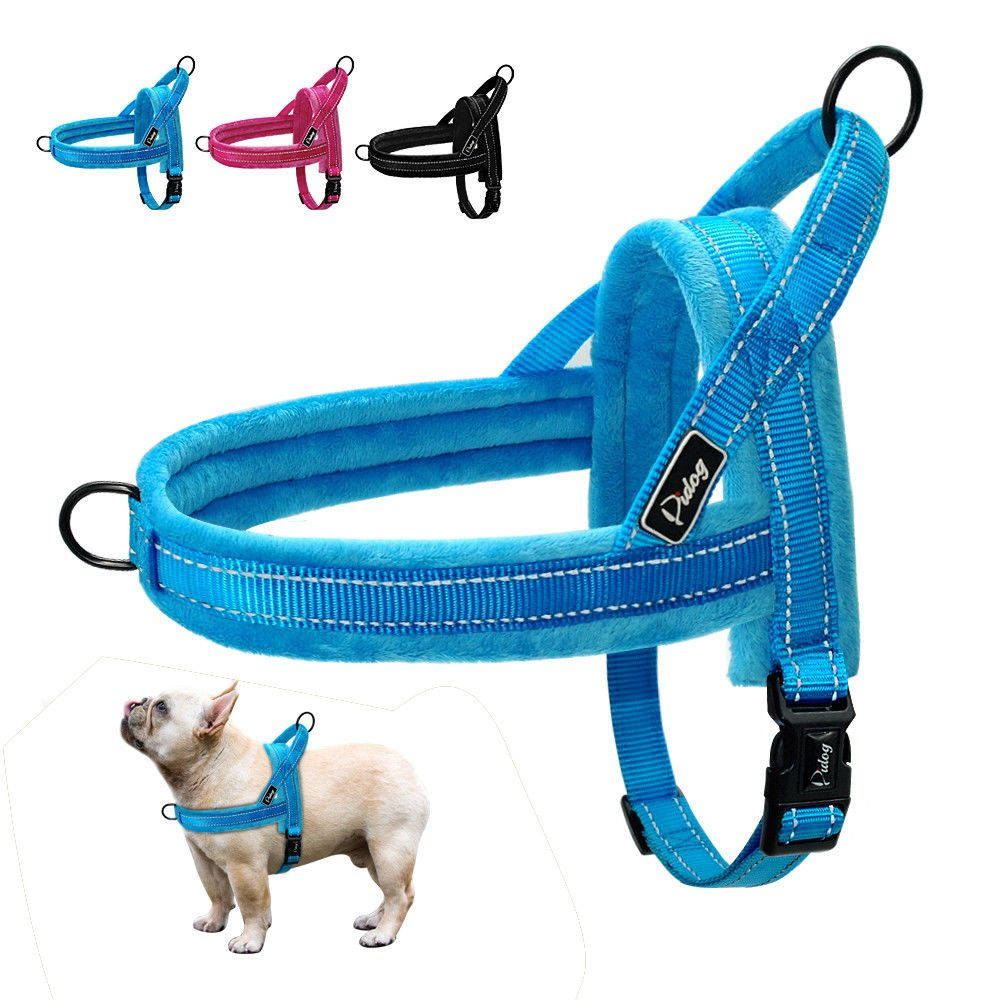 No Pull Padded Dog Harness Quick Fit Reflective Strap Vest For