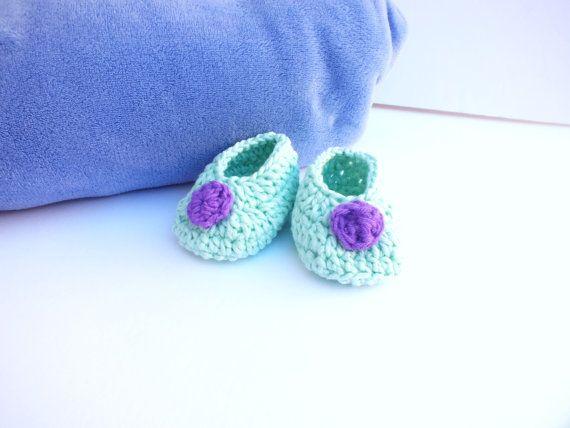 Baby Booties Crochet Baby Booties Crochet by SuninVIRGOCreations