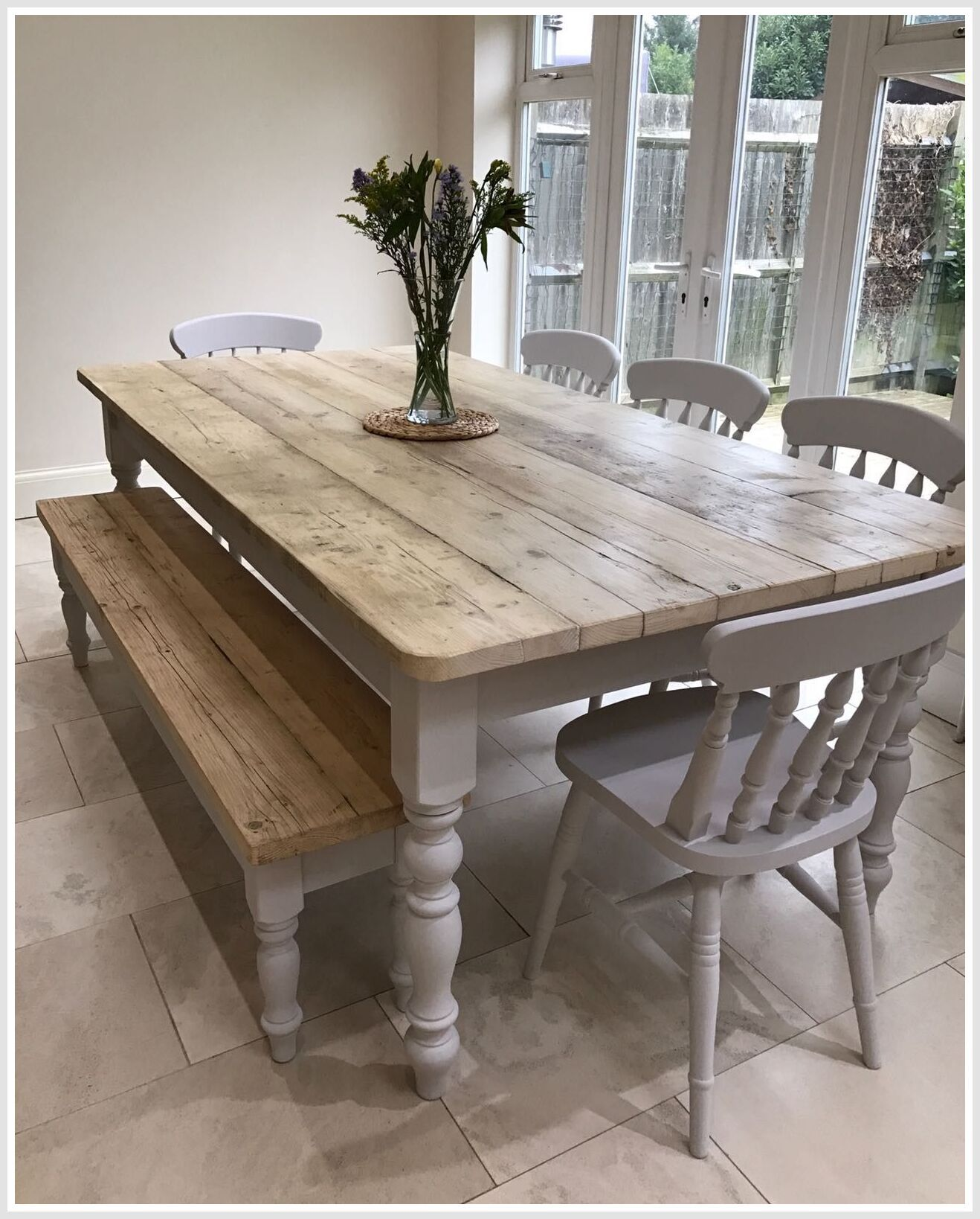 91 Reference Of Small Rustic Kitchen Table With Bench In 2020 Farmhouse Style Kitchen Table Farmhouse Style Dining Room Farmhouse Dining Room Table
