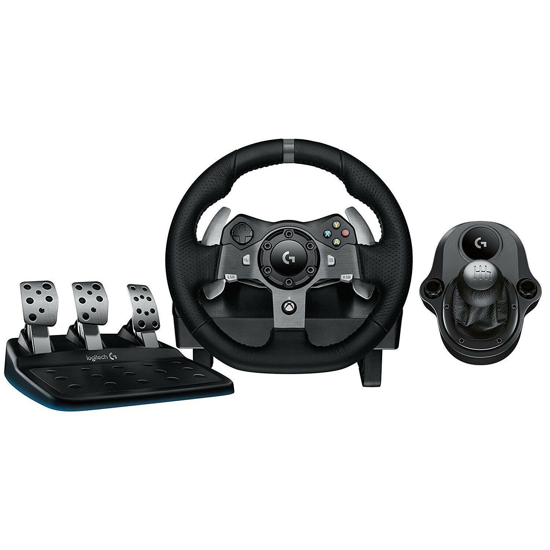 Logitech G920 Driving Force Racing Wheel Dual Motor Force Feedback With Shifter In 2020 Logitech Logitech Keyboard Logitech Speakers