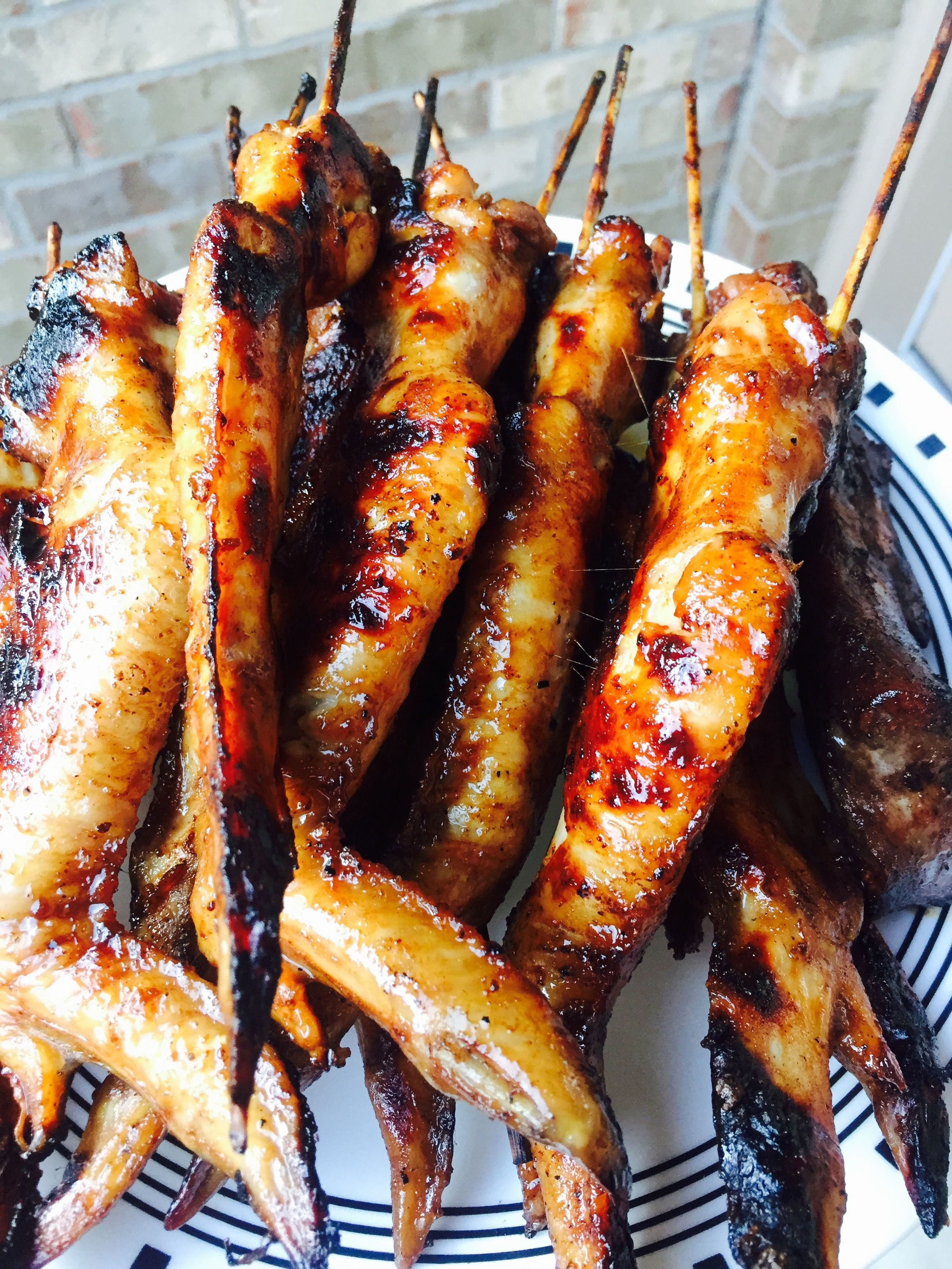 Lao Style Bbq Chicken On A Stick
