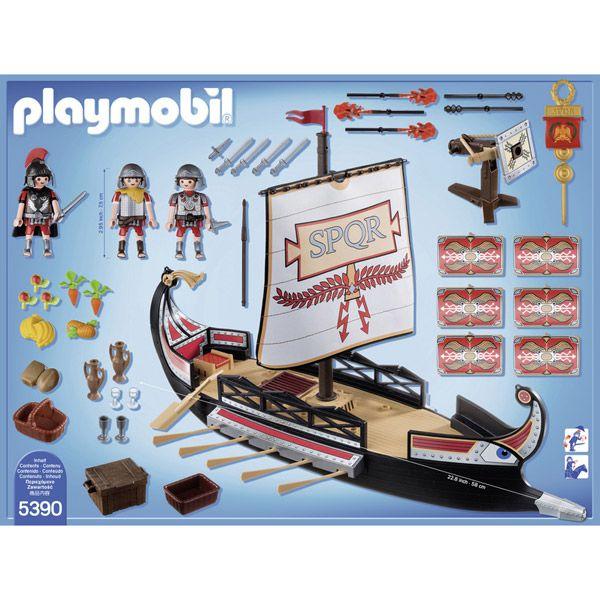 R sultat de recherche d 39 images pour bateau romain 5390 playmobil playmobil pinterest - Playmobil bateau corsaire ...