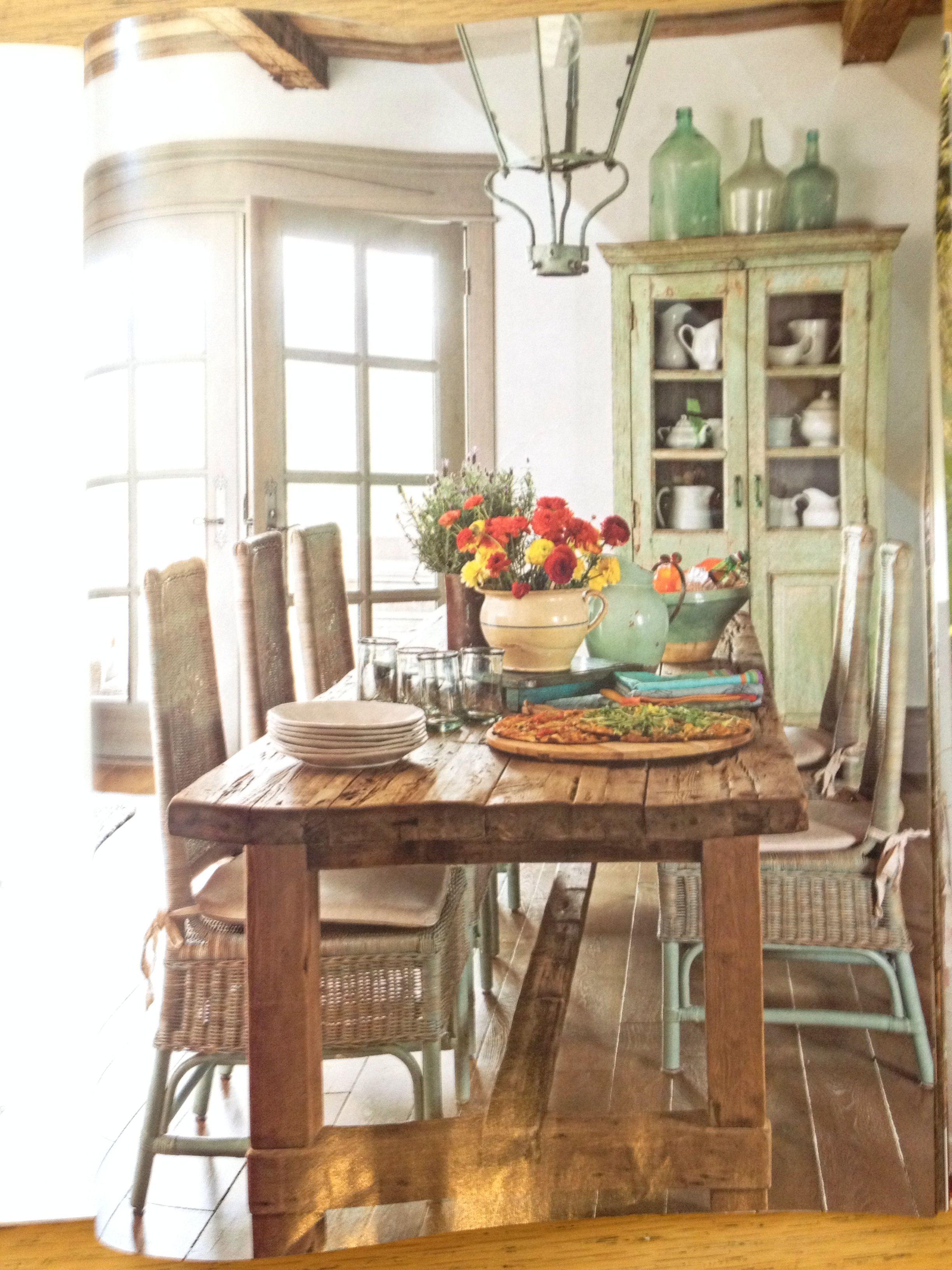Dining Trending decor, Farmhouse dining room, Farmhouse