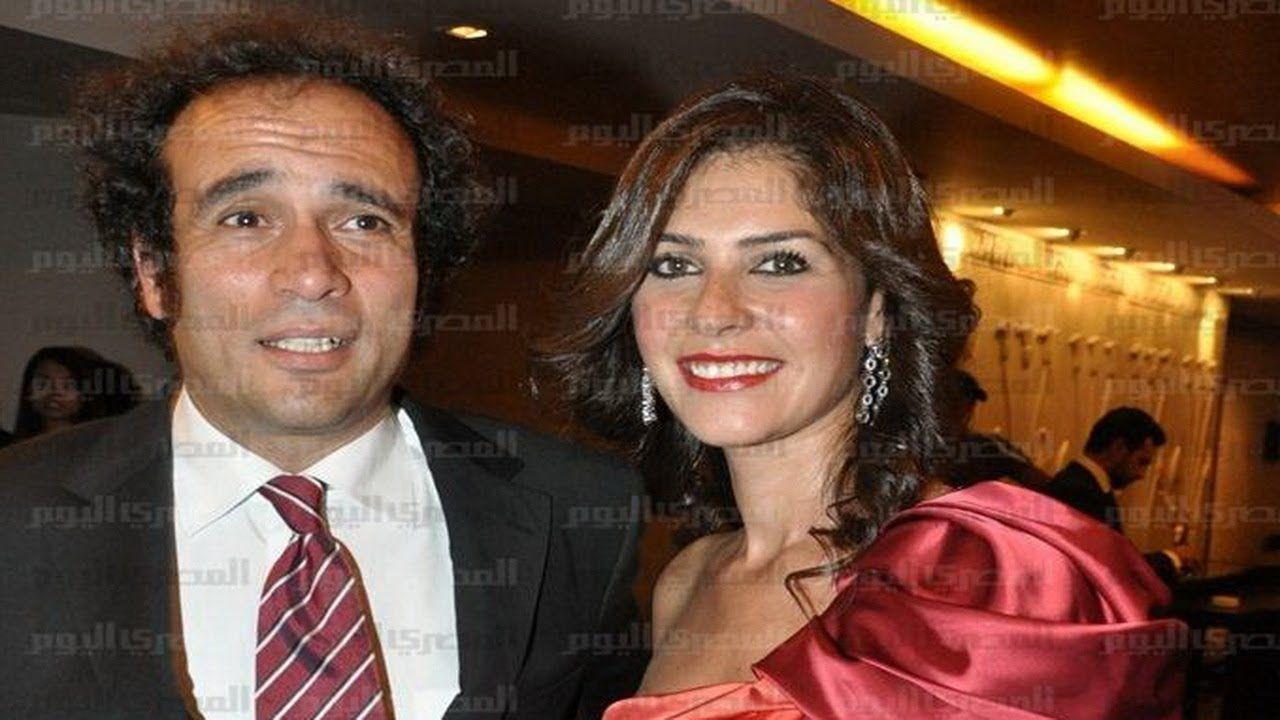 زواج عمرو حمزاوى والفنانة بسمة وصور لم تشاهدها من قبل Red Leather Jacket Red Leather Leather Jacket