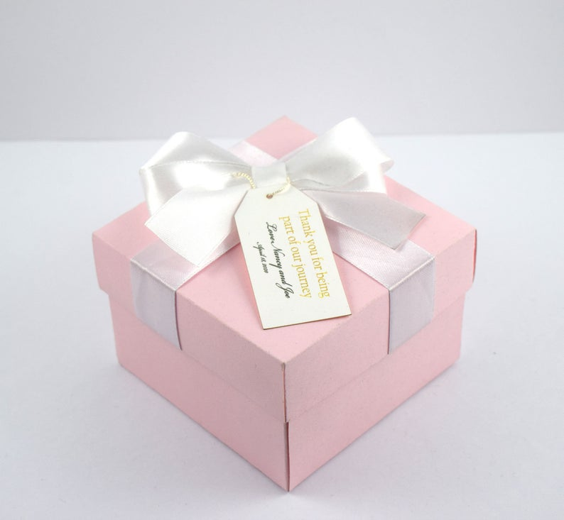 Gift Jewelry or Keepsake Box. Pink FREE GIFT with Purchase Breast Cancer Awareness Decorative