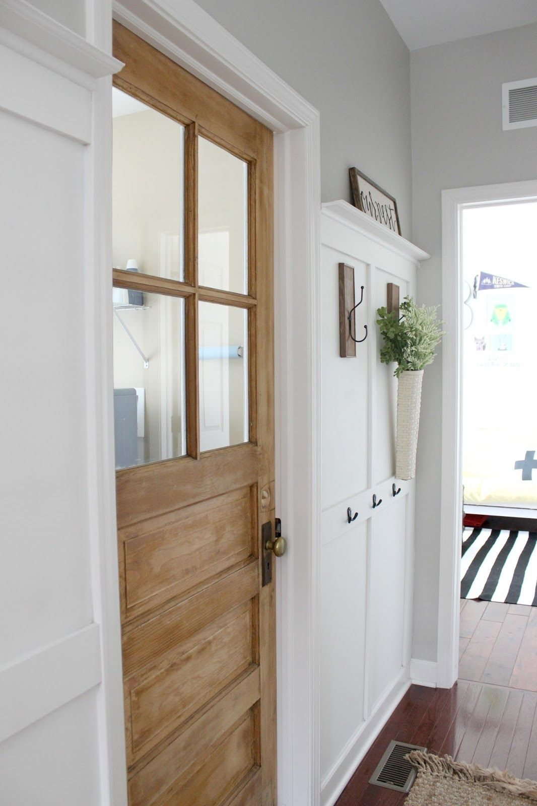 Old Vintage Door For The Laundry Room Wood Doors Interior Doors Interior Room Doors